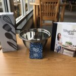 """Cook Theme: Large Mixing Bowl filled with Kitchen Utensil Set, Joanna Gaines cookbook """"Magnolia Table"""" and a $20 Jewel Gift Card"""